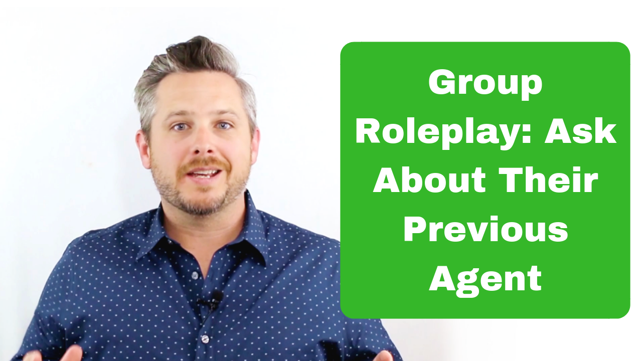 group roleplay real estate coaching