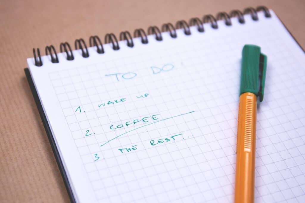 real estate agent to do list