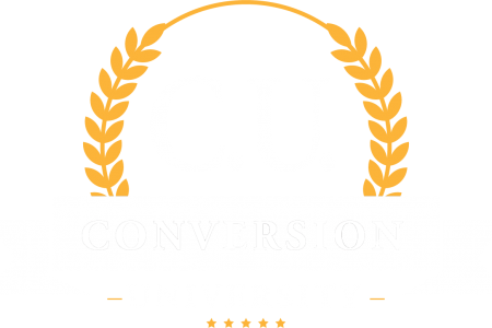 Conversion University (white)